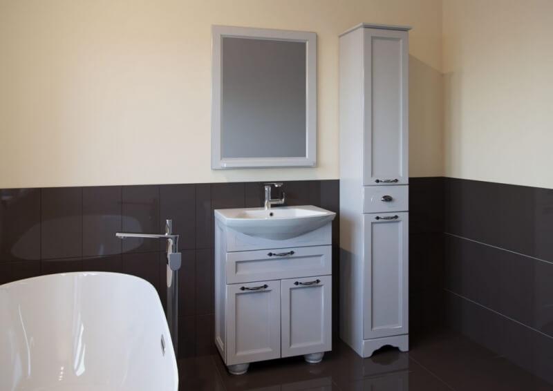 Комплект мебели для ванной Бергамо-65