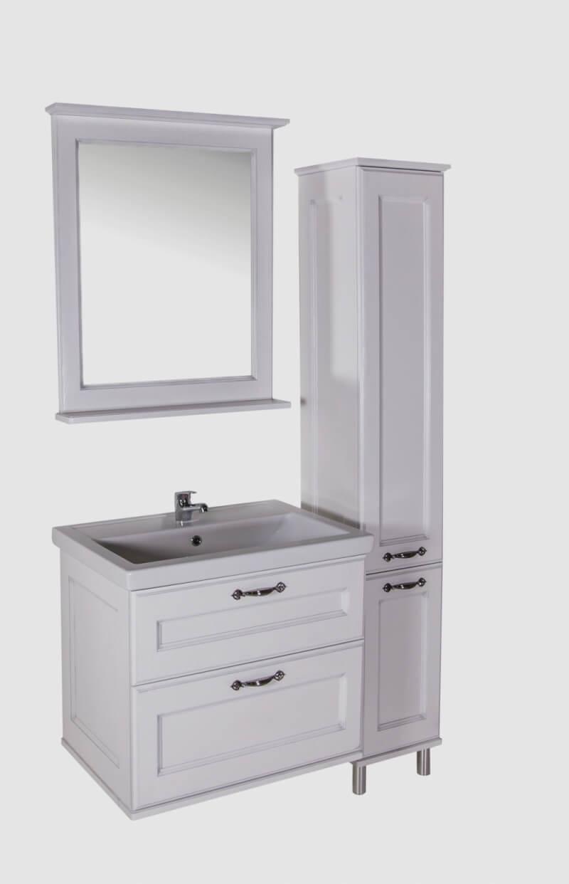Комплект мебели для ванной Прато-70