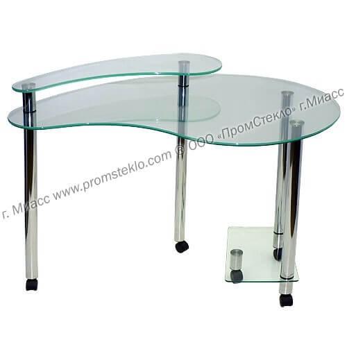 Компьютерный стол Омега 1 СК ТрБ-ТрБ-Б
