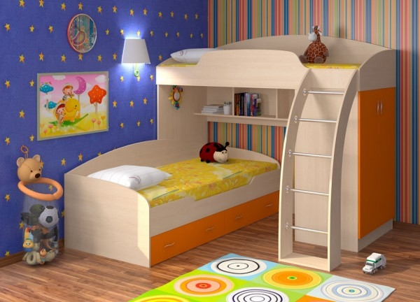 Кровать-чердак Соня-1 кровать верхняя