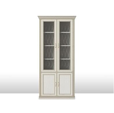 Четырехдверный шкаф-витрина Венето 4