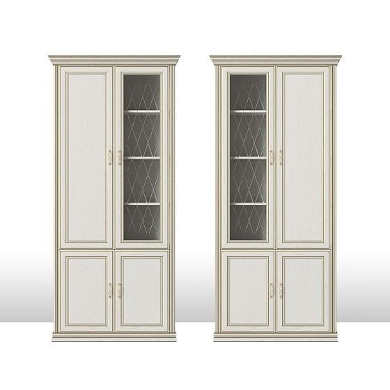 Четырехдверный шкаф-витрина Венето 5