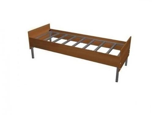 Кровать с бортиками из ЛДСП без сетки