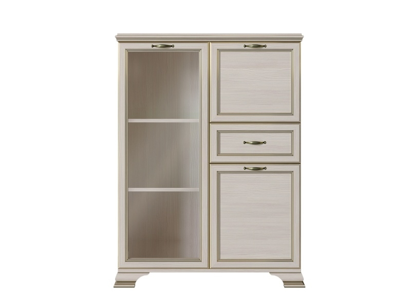 Шкаф низкий Сиена (1 стеклодверь)