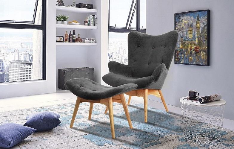 Кресло DС-917 графит