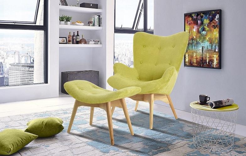 Кресло DС-917 оливковый