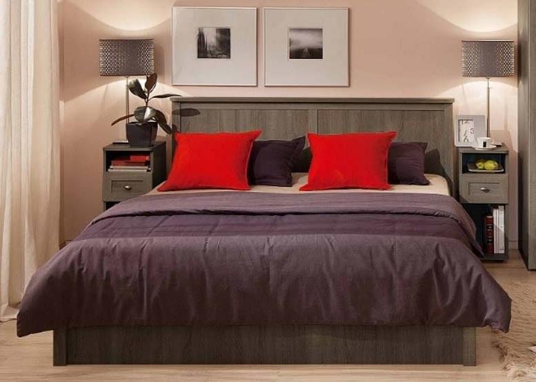 Кровать Sherlock 45 (ясень анкор темный)