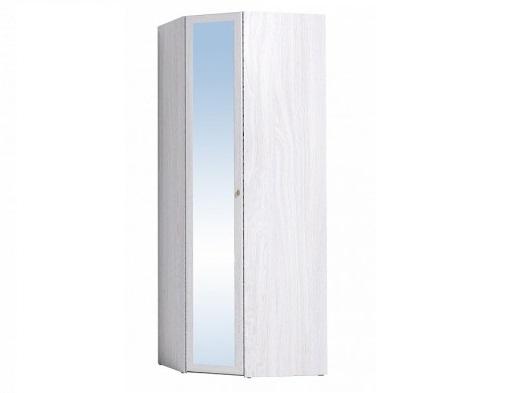 Шкаф угловой Sherlock 63 Зеркало (ясень анкор светлый)