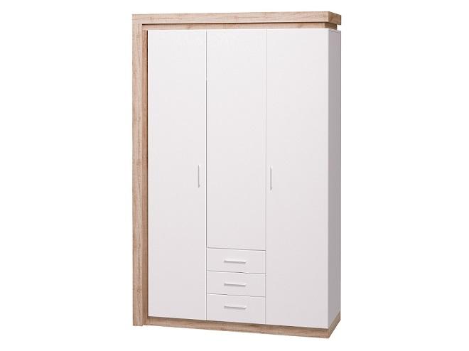 Шкаф для одежды трехдверный Люмен №15