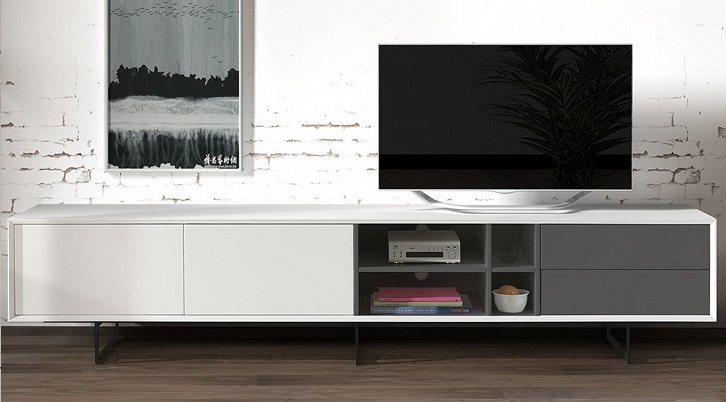 ТВ-тумба DUPEN TV-130 white
