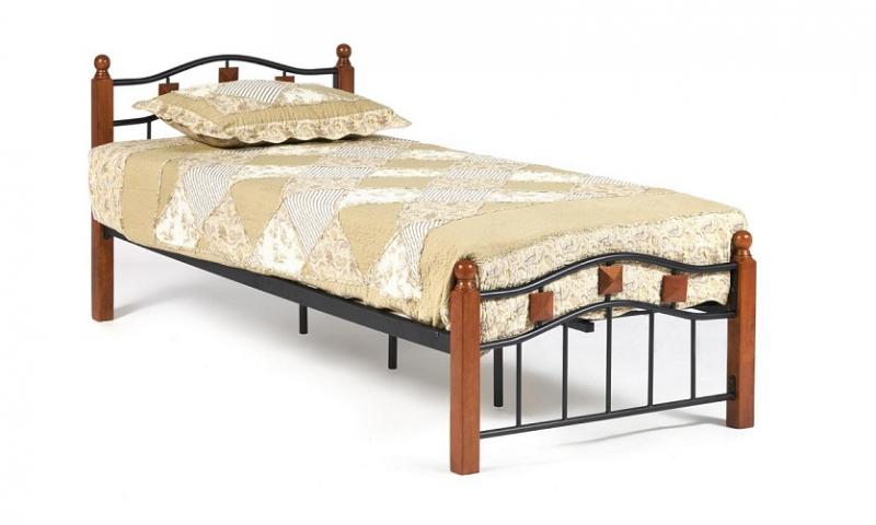 Кровать AT-126 Wood slat base (арт. 14005)