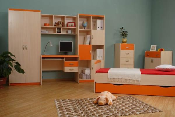Мебель для детской 4.5 М