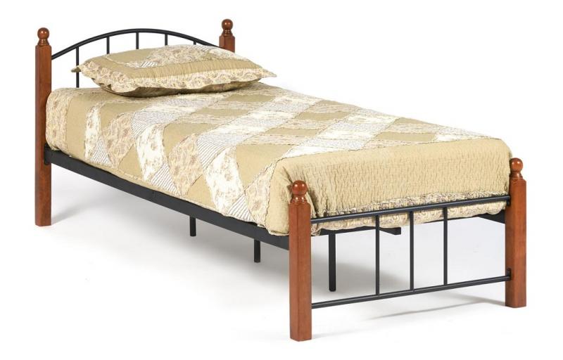 Кровать AT-915 Wood slat base Single Bed (арт. 14007)