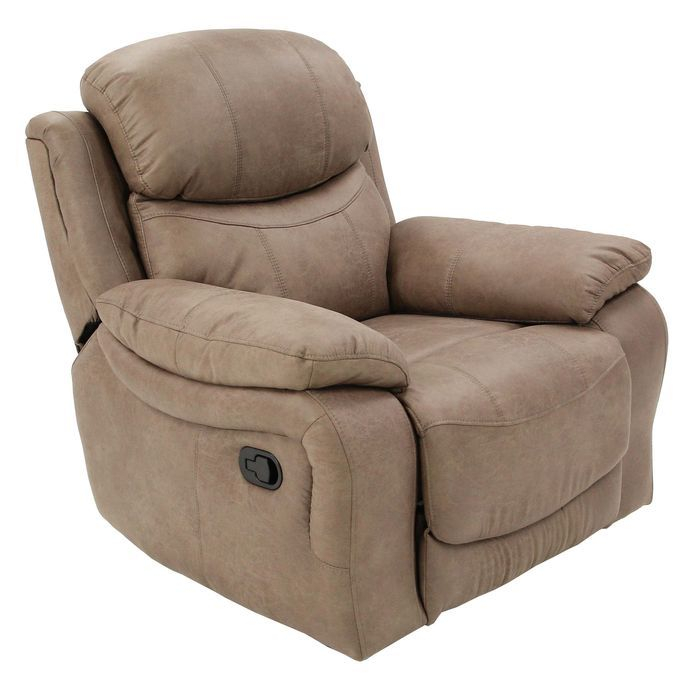 Кресло MK-4708-BRF реклайнер 100х100х102 см Кофейный