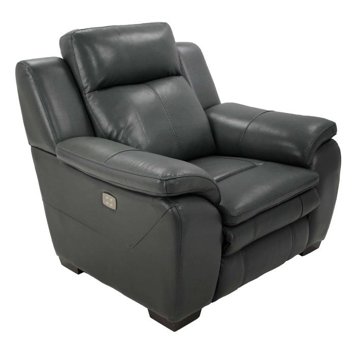 Кресло MK-4717-GL реклайнер электрический 108х100х102 см Графит