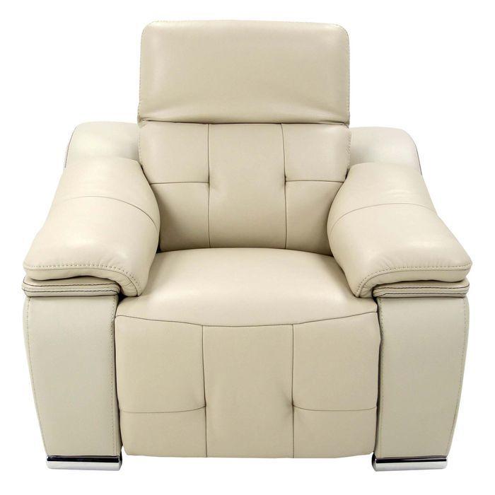 Кресло MK-4726-WT реклайнер электрический 118х107х100 см Серый жемчуг