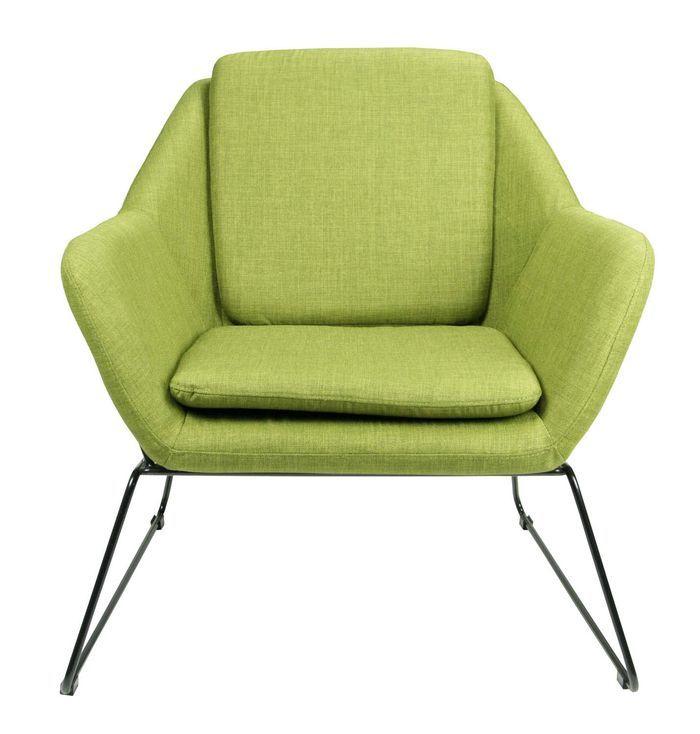 Кресло Отто MK-5515-GE 80х79х78 см Зеленый