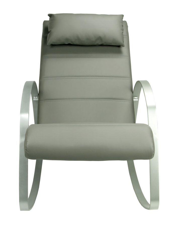 Кресло-качалка Томас MK-5513-GR 62х125х80 см Серый