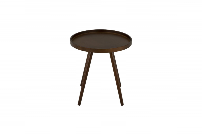 Столик кофейный MK-2377 46х46х48 см Темный орех