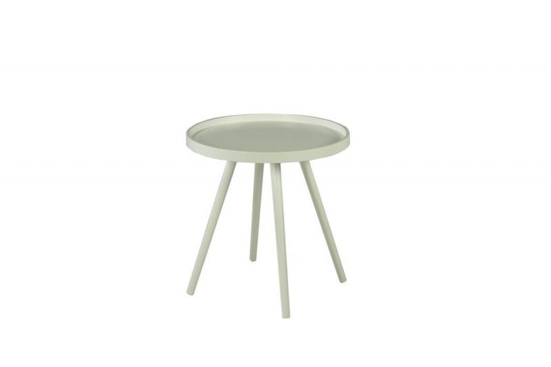 Столик кофейный MK-2377-WT 46х46х48 см Белый