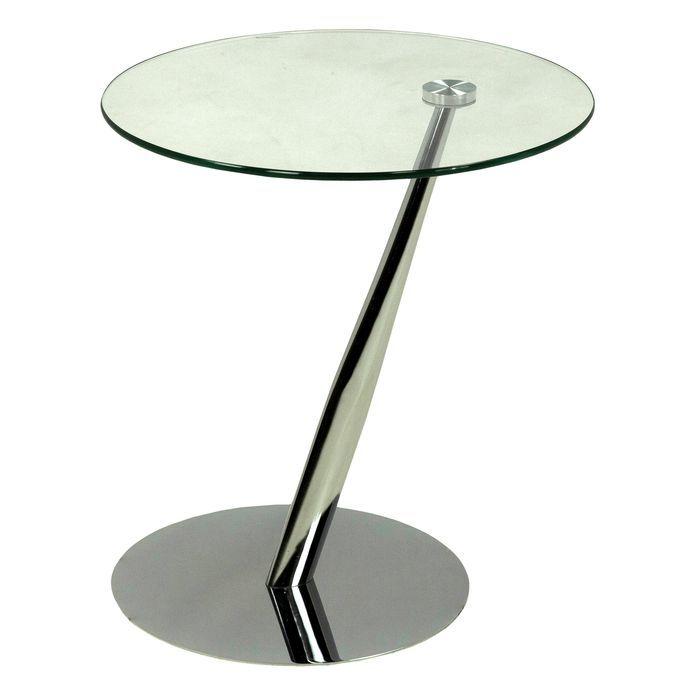 Столик приставной MK-6328 45х45х50 см Хром