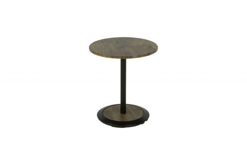 Столик приставной MK-6347-BR 45х45х51 см Коричневый