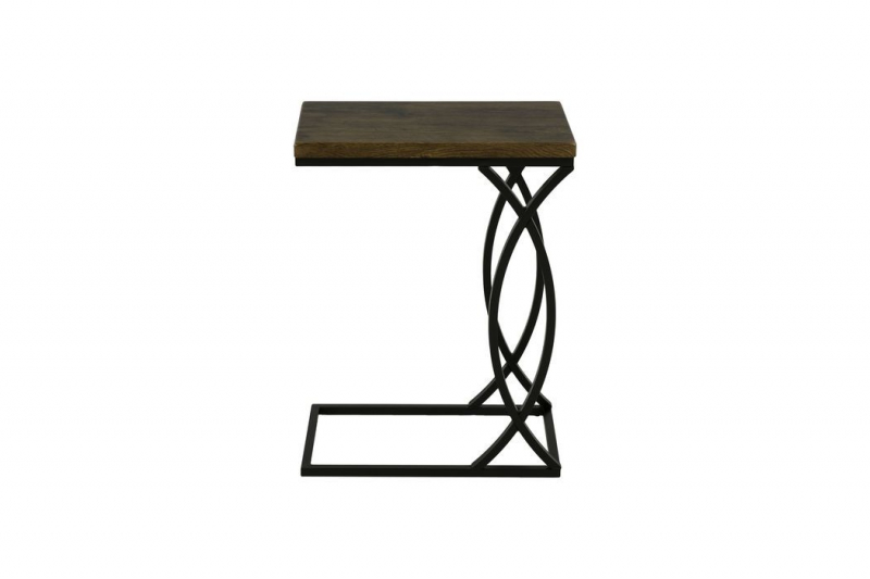 Столик приставной MK-6353-BR 46х26х62 см Коричневый