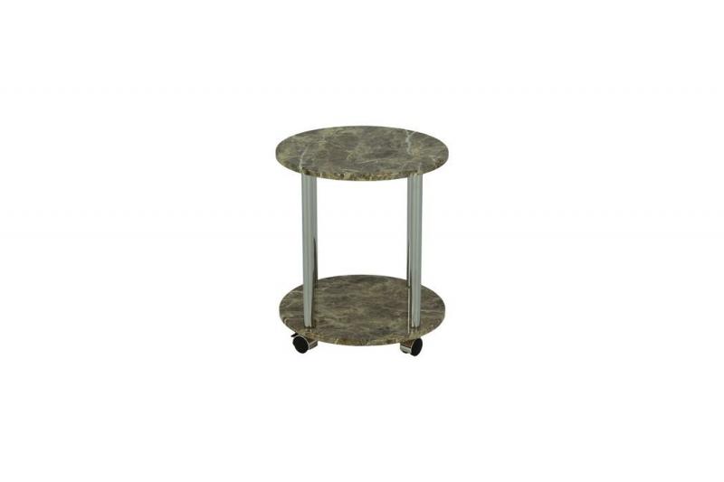 Столик чайный MK-6351-BG 40х40х46 см Бежевый