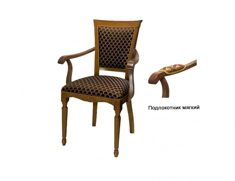 Кресло С12 мягкий подлокотник