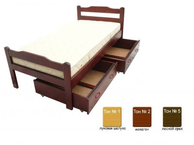 Детская кроватка Хвоя 60