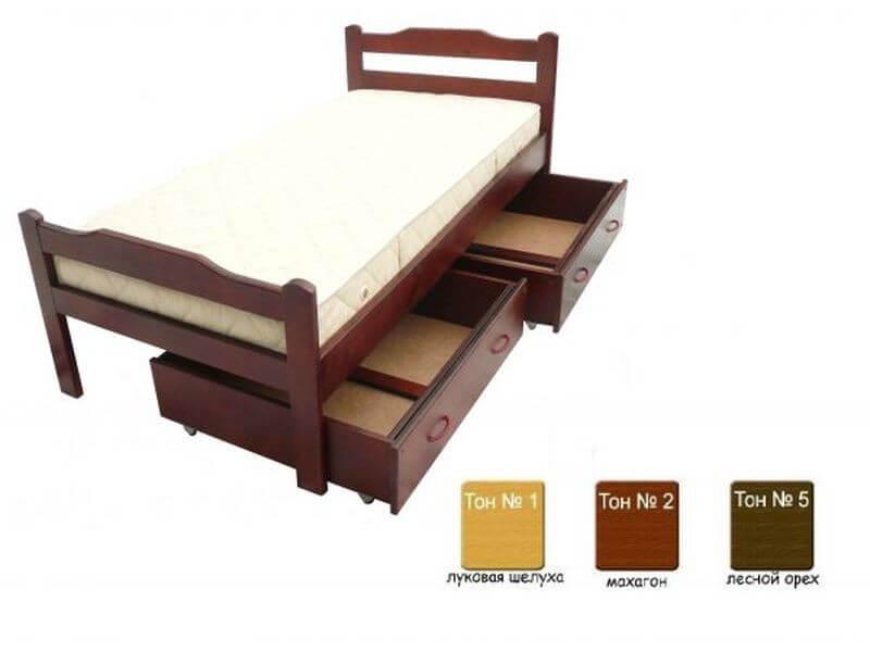 Кровать детская Хвоя