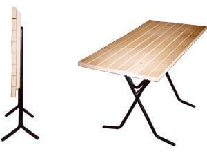 Cкладные реечные столы