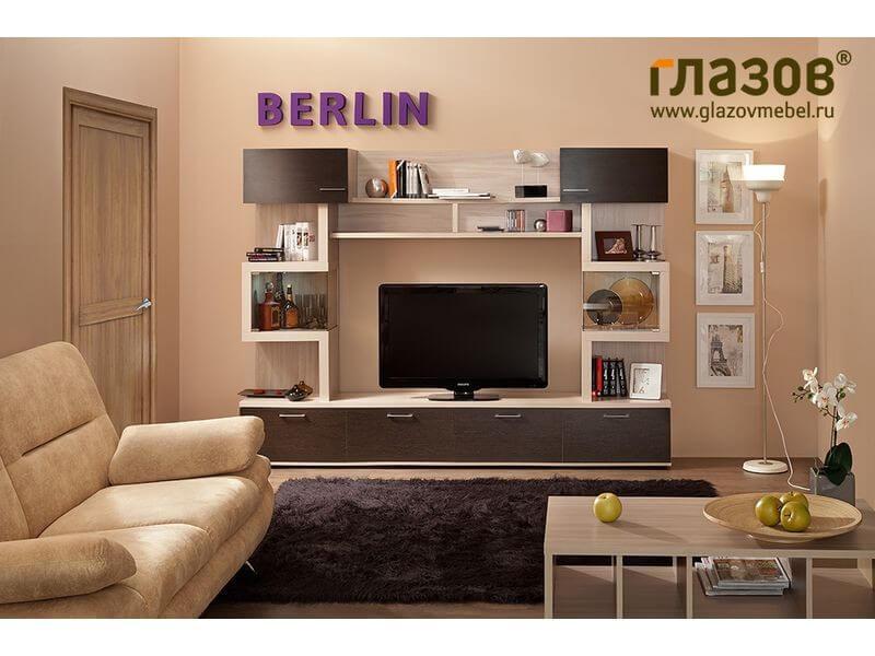 Cимметричная и стильная мебель для гостиной BERLIN 4