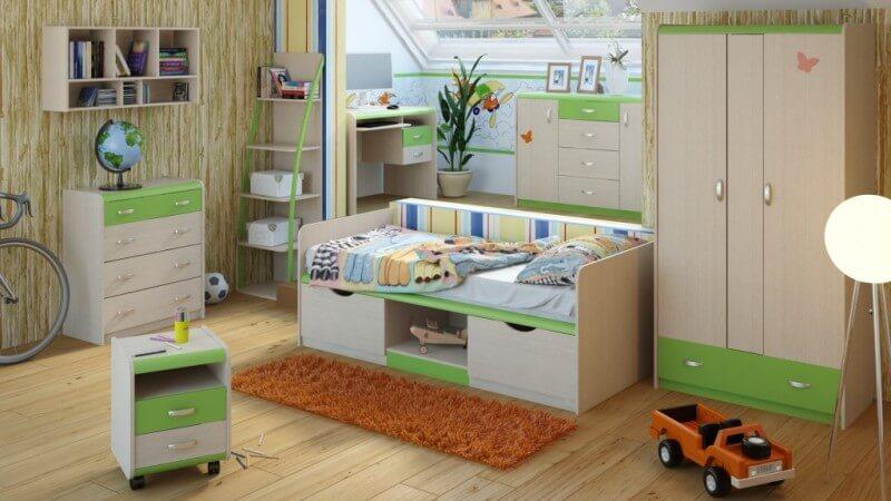 Детская корпусная мебель ЖК 4.5М