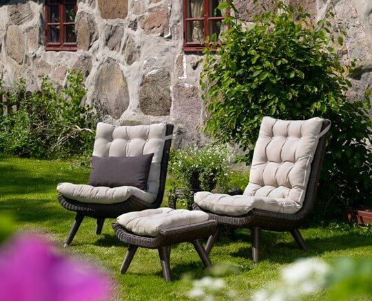 Набор плетеной мебели Silva