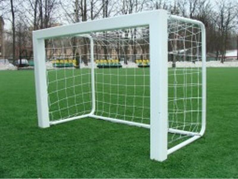 Футбольные ворота из алюминия 1,80х1,20м