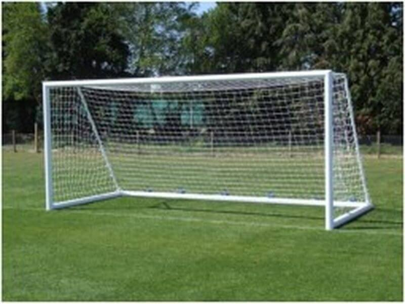 Ворота футбольные из алюминия 5,6х2,35м