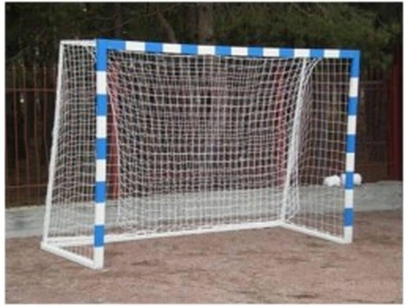 Ворота для мини-футбола разборные+сетка 3х2х0,4х1,0м
