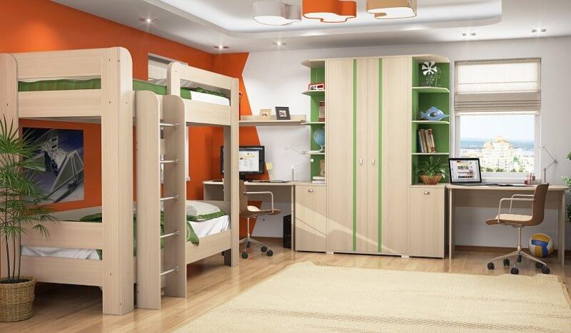Комплект молодежной мебели ВЕГАС
