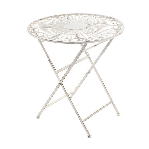 Стол с кованым узором PL08-6188