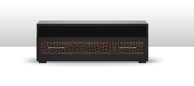 Тумба для телевизора Парма-Люкс с нишей (арт. ГТ.033.302)