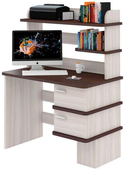 Компьютерный стол СД-15 с надстройкой