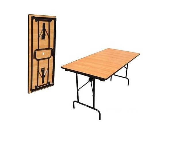 Складной стол Прямоугольный-96 16 ДМ 96-75 РТ ПЕ