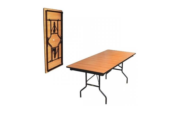 Складной стол Прямоугольный-128 16 ДМ 128-75 РТ ДЕ