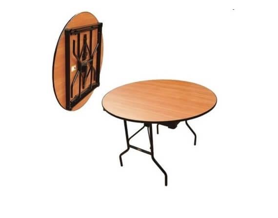 Складной стол Круглый-120 16 ДМ 12-75 КТ ДЕ