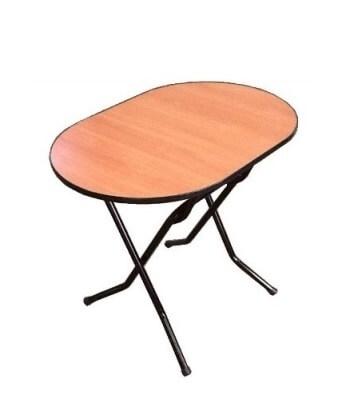Складной стол Овальный-96 16 ДМ 96-75 ОТ РИ