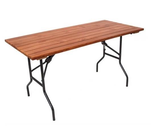 Складной стол Прямоугольный-157 25 РС 157-76 ПН ДЕ