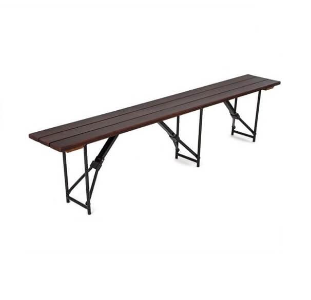 Складная скамейка-203 (три опоры) 25 РС 203-47 ПН СТт